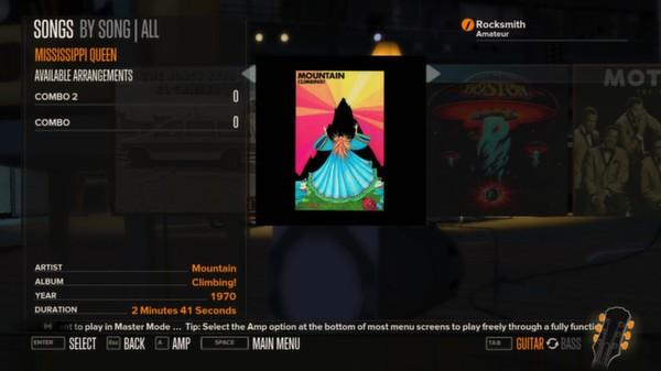 Rocksmith - Mountain - Mississippi Queen (DLC)