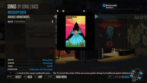 Rocksmith - Mountain - Mississippi Queen (DLC)