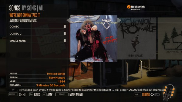 Rocksmith - Twisted Sister - We're Not Gonna Take It (DLC)