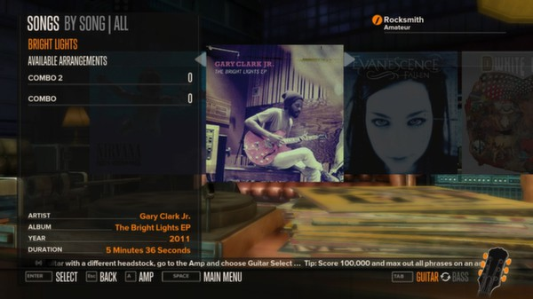 Rocksmith - Gary Clark Jr. - Bright Lights (DLC)