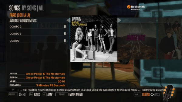 Rocksmith - Grace Potter and the Nocturnals - Paris (Ooh La La) (DLC)