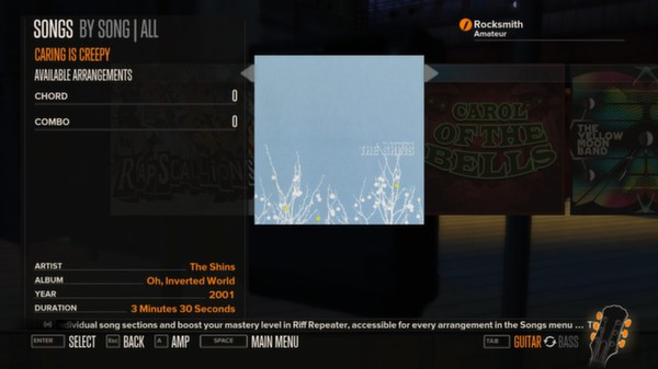 Rocksmith - The Shins - Caring is Creepy (DLC)