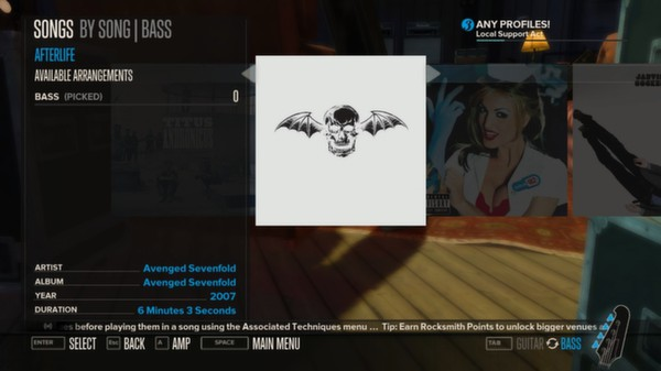 Rocksmith - Avenged Sevenfold - Afterlife (DLC)