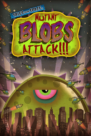 Tales From Space: Mutant Blobs Attack poster image on Steam Backlog