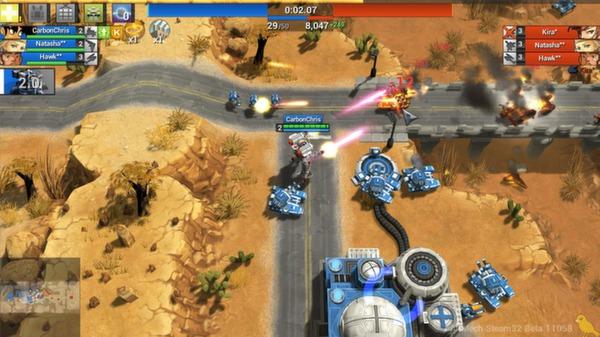 Screenshot of AirMech Strike