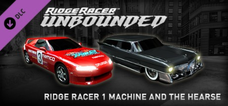 Ridge Racer Unbounded - Ridge Racer 1 Machine and the Hearse Pack