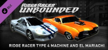 Купить Ridge Racer™ Unbounded - Ridge Racer™ Type 4 Machine and  El Mariachi Pack (DLC)
