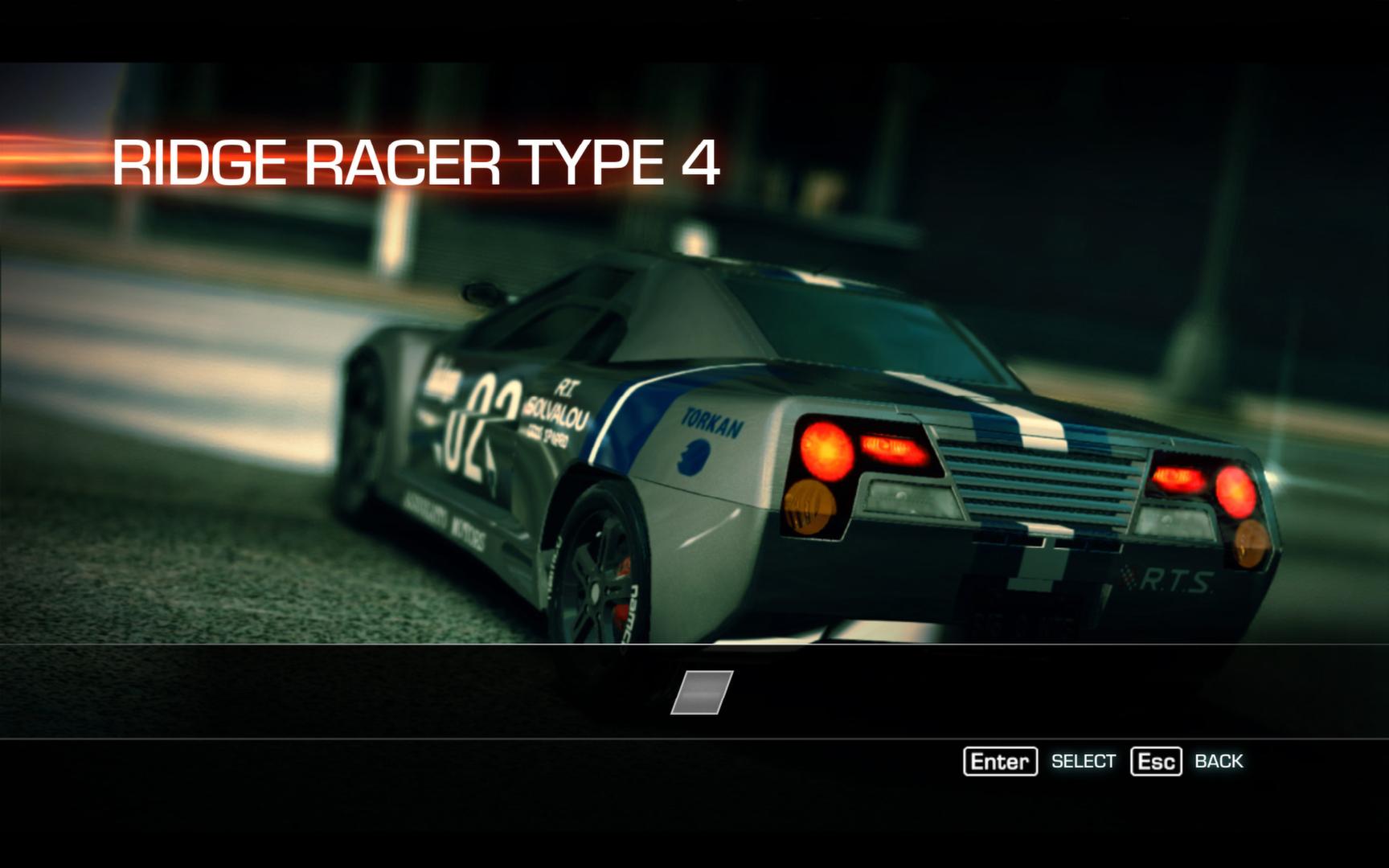 Ridge Racer: Unbounded - Ridge Racer Type 4 Machine and  El Mariachi 2012 pc game Img-1