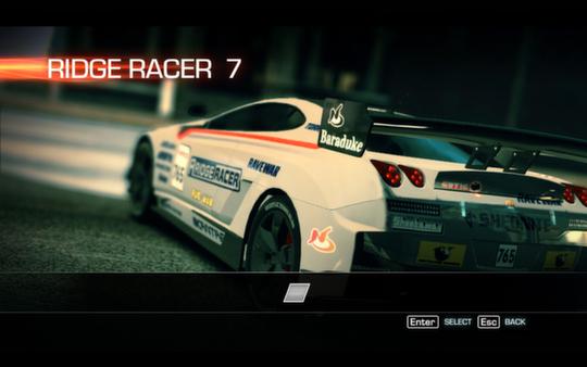 Ridge Racer™ Unbounded - Ridge Racer™ 7 Machine Pack (DLC)