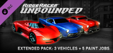 Купить Ridge Racer™ Unbounded - Extended Pack: 3 Vehicles + 5 Paint Jobs (DLC)