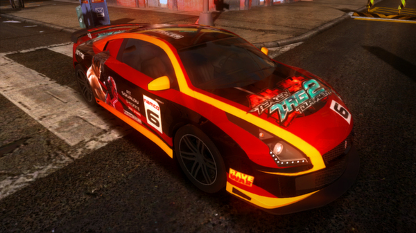 Ridge Racer™ Unbounded - Extended Pack: 3 Vehicles + 5 Paint Jobs (DLC)