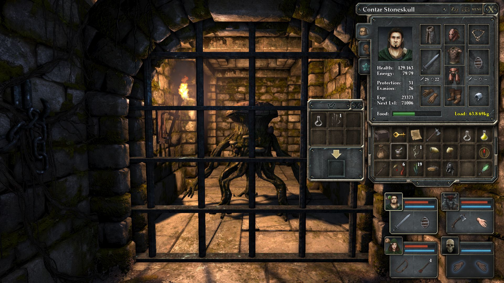 Legend Of Grimrock screenshot 1