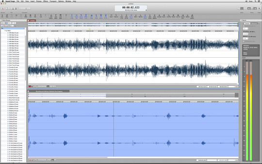 Sound Forge Mac 2.0 - Steam Powered