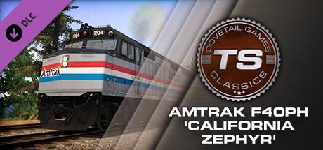 Amtrak F40PH 'California Zephyr' Loco Add-On