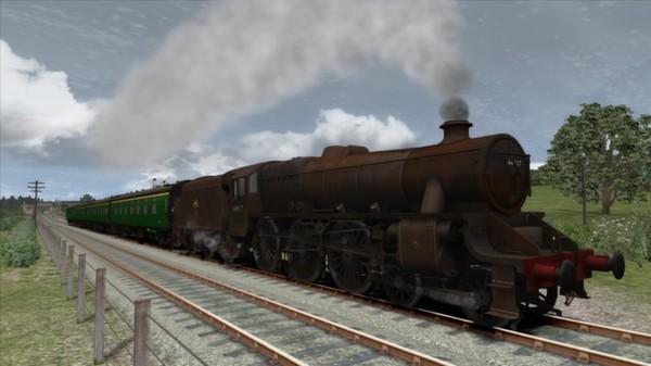 скриншот Somerset & Dorset Railway Route Add-On 4