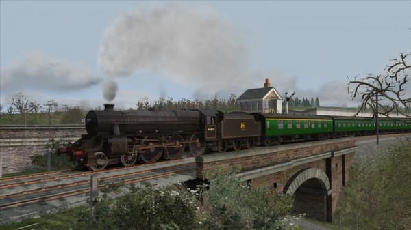 скриншот Somerset & Dorset Railway Route Add-On 0