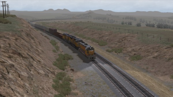 скриншот Union Pacific SD45 Loco Add-On 1
