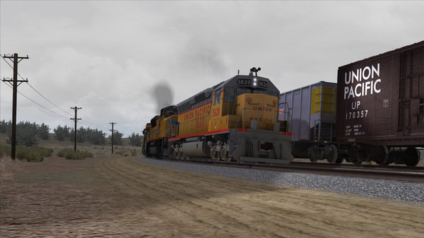 скриншот Union Pacific SD45 Loco Add-On 2