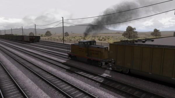 скриншот UP GE 44 Loco Add-On 3