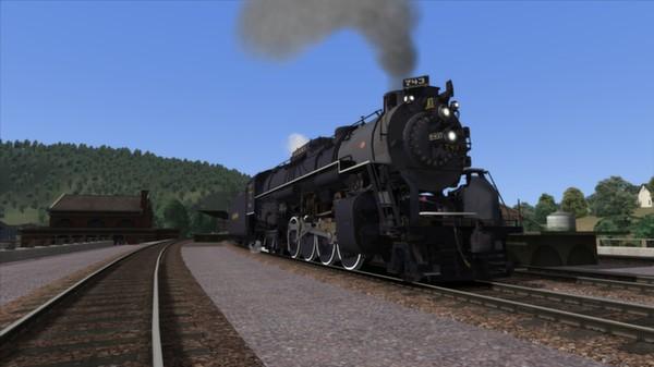 скриншот NKP S-2 Class 'Berkshire' Loco Add-On 2