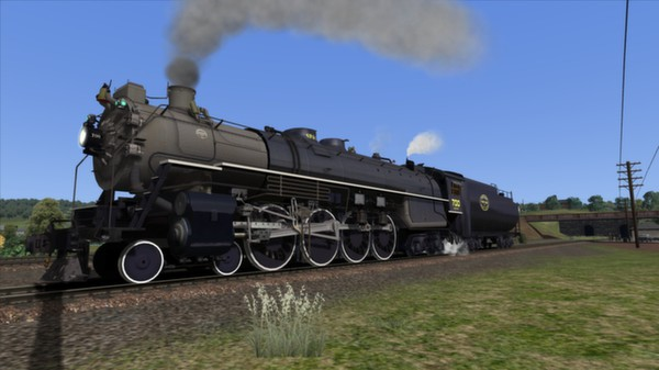 SP&S E-1 Class 'Northern' Loco Add-On