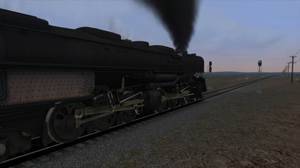 скриншот Union Pacific Challenger Loco Add-On 5