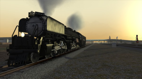 скриншот Union Pacific Challenger Loco Add-On 4