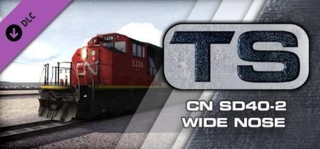 CN SD40-2 Wide Nose Loco Add-On