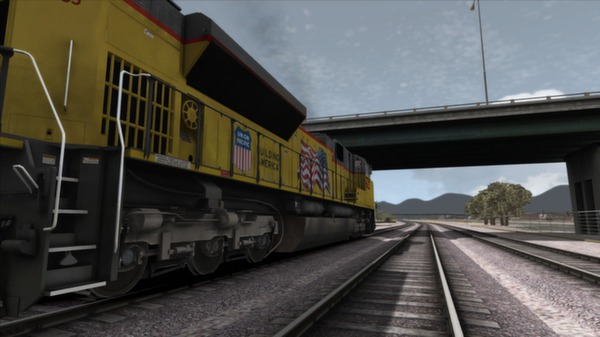 скриншот Union Pacific SD70Ace Loco Add-On 2