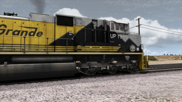 скриншот Union Pacific SD70Ace Loco Add-On 3
