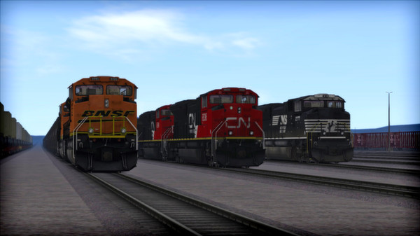 скриншот SD70 V2 Volume 2 Loco Add-On 0