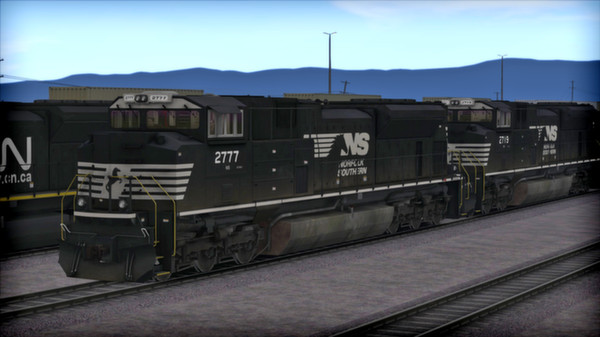 скриншот SD70 V2 Volume 2 Loco Add-On 3