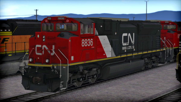скриншот SD70 V2 Volume 2 Loco Add-On 4