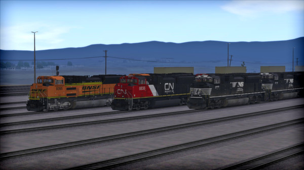 скриншот SD70 V2 Volume 2 Loco Add-On 2
