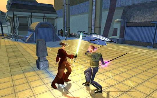 скриншот Star Wars: Knights of the Old Republic II - The Sith Lords 3