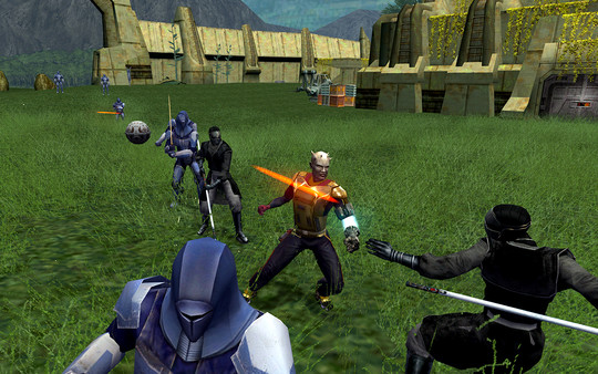 скриншот Star Wars: Knights of the Old Republic II - The Sith Lords 4