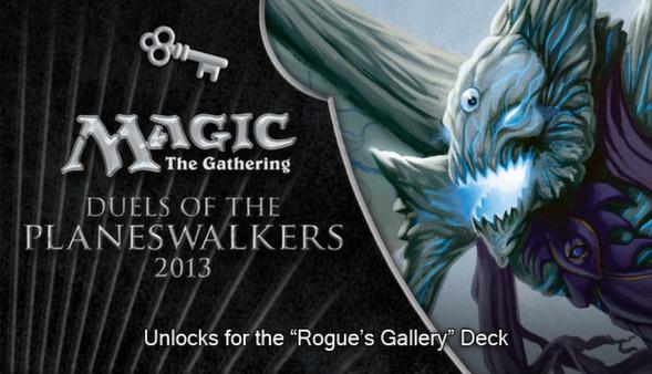 "Magic 2013 ""Rogue's Gallery"" Deck Key (DLC)"