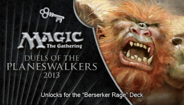 "Magic 2013 ""Berserker Rage"" Deck Key (DLC)"