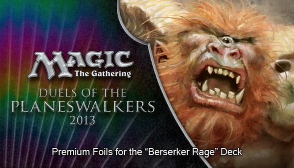 "Magic 2013 ""Berserker Rage"" Foil Conversion (DLC)"