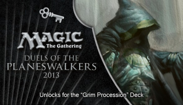 "Magic 2013 ""Grim Procession"" Deck Key (DLC)"