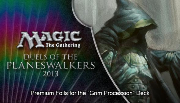 """Magic 2013 """"Grim Procession"""" Foil Conversion (DLC)"""