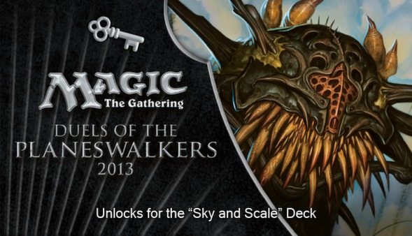 "Magic 2013 ""Sky and Scale"" Deck Key (DLC)"