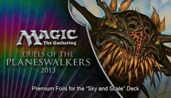 "Magic 2013 ""Sky and Scale"" Foil Conversion (DLC)"