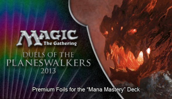 "Magic 2013 ""Mana Mastery"" Foil Conversion (DLC)"