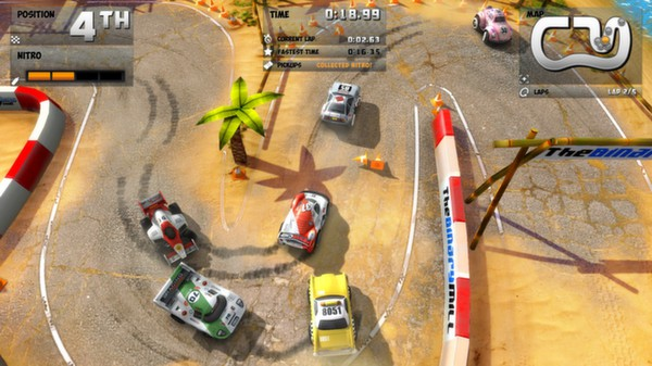 mini car race game free