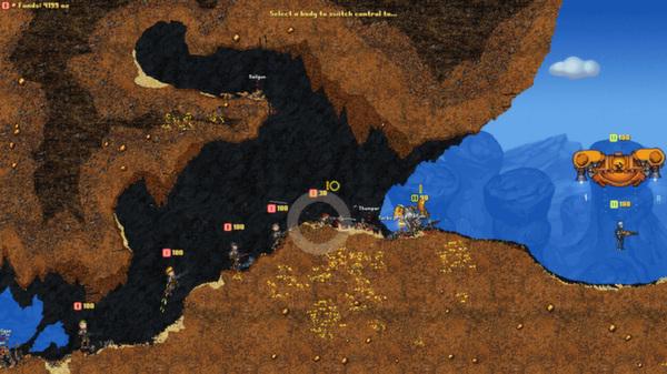 Cortex Command screenshots