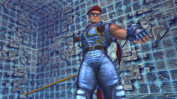 Street Fighter X Tekken: Rolento (Swap Costume) (DLC)