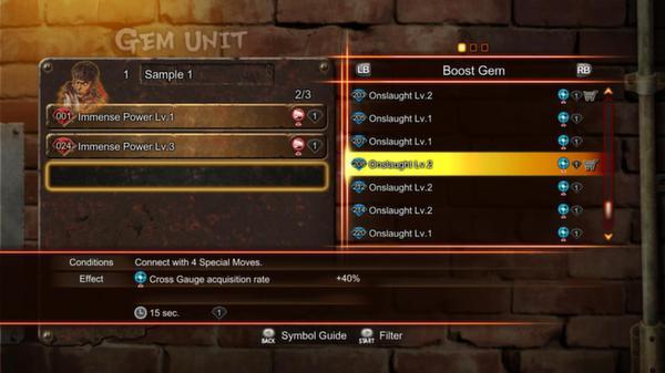 Street Fighter X Tekken: Street Fighter Boost Gem Pack 1 (DLC)