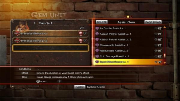 Street Fighter X Tekken: Gems Assist 3  (DLC)