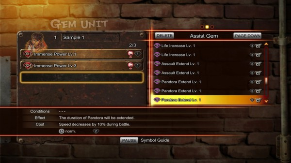 Street Fighter X Tekken: Gems Assist 5  (DLC)